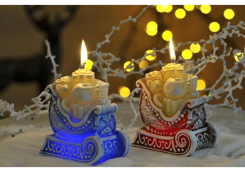 Magic Candle With Diode Christmas Gifts
